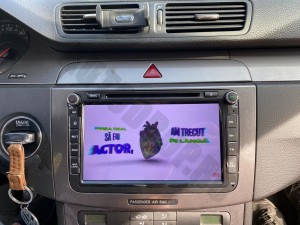 Navigatie Volkswagen, Skoda, Seat, Android 10, QUADCORE|PX30| / 2GB RAM + 16 ROM cu DVD, 8 Inch - AD-BGWVW8P318