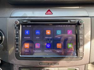 Navigatie Volkswagen, Skoda, Seat, Android 10, QUADCORE|PX30| / 2GB RAM + 16 ROM cu DVD, 8 Inch - AD-BGWVW8P322