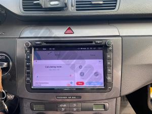 Navigatie Volkswagen, Skoda, Seat, Android 10, QUADCORE|PX30| / 2GB RAM + 16 ROM cu DVD, 8 Inch - AD-BGWVW8P320