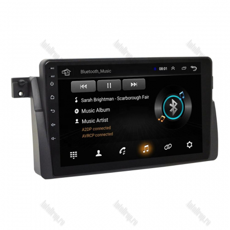Navigatie BMW E46, Android 8.1, QUADCORE|MTK| / 2GB RAM + 32 ROM, 9 Inch - AD-BGPBMWE469H8