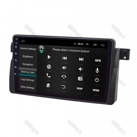 Navigatie BMW E46, Android 8.1, QUADCORE|MTK| / 2GB RAM + 32 ROM, 9 Inch - AD-BGPBMWE469H9