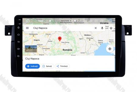 Navigatie BMW E46, Android 8.1, QUADCORE|MTK| / 2GB RAM + 32 ROM, 9 Inch - AD-BGPBMWE469H13