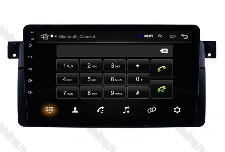 Navigatie BMW E46, Android 8.1, QUADCORE|MTK| / 2GB RAM + 32 ROM, 9 Inch - AD-BGPBMWE469H4