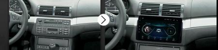 Navigatie BMW E46, Android 8.1, QUADCORE|MTK| / 2GB RAM + 32 ROM, 9 Inch - AD-BGPBMWE469H15