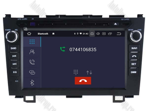 Navigatie Honda CRV 2006-2012, Android 10, QUADCORE|PX30| / 2GB RAM + 16 ROM cu DVD, 8 Inch - AD-BGWCRV0612P34