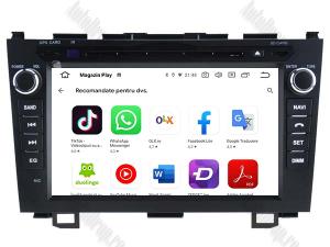 Navigatie Honda CRV 2006-2012, Android 10, QUADCORE|PX30| / 2GB RAM + 16 ROM cu DVD, 8 Inch - AD-BGWCRV0612P311