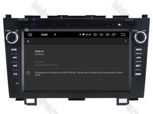 Navigatie Honda CRV 2006-2012, Android 10, QUADCORE|PX30| / 2GB RAM + 16 ROM cu DVD, 8 Inch - AD-BGWCRV0612P37