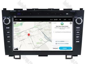 Navigatie Honda CRV 2006-2012, Android 10, OCTACORE|PX5| / 4GB RAM + 64 ROM cu DVD, 8 Inch - AD-BGWCRV0612P513