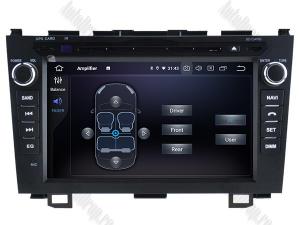 Navigatie Honda CRV 2006-2012, Android 10, OCTACORE|PX5| / 4GB RAM + 64 ROM cu DVD, 8 Inch - AD-BGWCRV0612P55