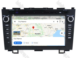 Navigatie Honda CRV 2006-2012, Android 10, QUADCORE|PX30| / 2GB RAM + 16 ROM cu DVD, 8 Inch - AD-BGWCRV0612P314