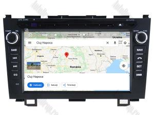 Navigatie Honda CRV 2006-2012, Android 10, OCTACORE|PX5| / 4GB RAM + 64 ROM cu DVD, 8 Inch - AD-BGWCRV0612P514