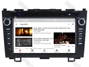 Navigatie Honda CRV 2006-2012, Android 10, QUADCORE|PX30| / 2GB RAM + 16 ROM cu DVD, 8 Inch - AD-BGWCRV0612P310