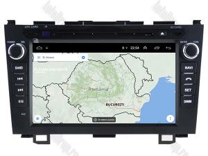 Navigatie Honda CRV 2006-2012, Android 10, QUADCORE|PX30| / 2GB RAM + 16 ROM cu DVD, 8 Inch - AD-BGWCRV0612P312