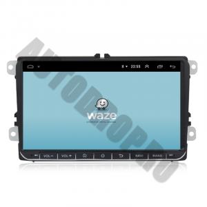 Navigatie Volkswagen, Skoda, Seat, Android 10, OCTACORE T8  / 4GB RAM + 128 ROM, 9 Inch - AD-BGMVW9T84
