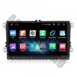 Navigatie Volkswagen, Skoda, Seat, Android 10, OCTACORE T8  / 4GB RAM + 128 ROM, 9 Inch - AD-BGMVW9T81