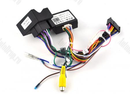 Navigatie Volkswagen, Skoda, Seat, Android 10, QUADCORE|PX30| / 2GB RAM + 16 ROM cu DVD, 8 Inch - AD-BGWVW8P316
