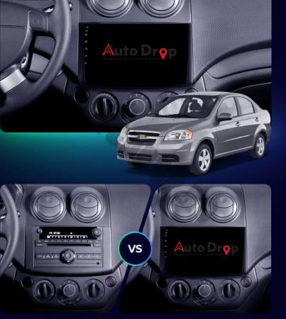 Navigatie Chevrolet Aveo (2006-2012), QUADCORE|MTK| / 1GB RAM + 16GB ROM, 9 Inch - AD-BGPAVEO9MTK18