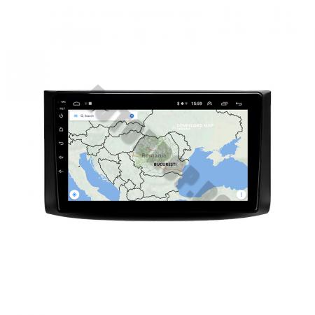 Navigatie Chevrolet Aveo (2006-2012), QUADCORE|MTK| / 1GB RAM + 16GB ROM, 9 Inch - AD-BGPAVEO9MTK9