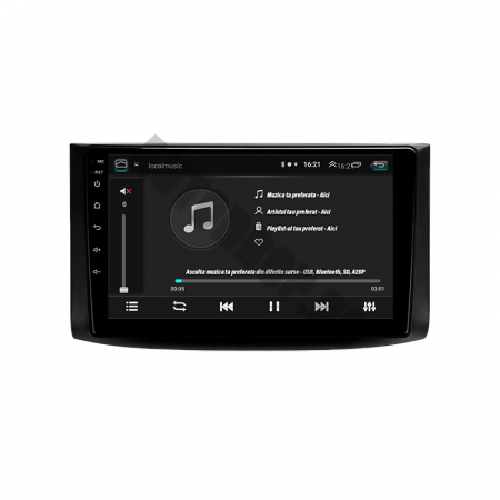 Navigatie Chevrolet Aveo (2006-2012), QUADCORE|MTK| / 1GB RAM + 16GB ROM, 9 Inch - AD-BGPAVEO9MTK6