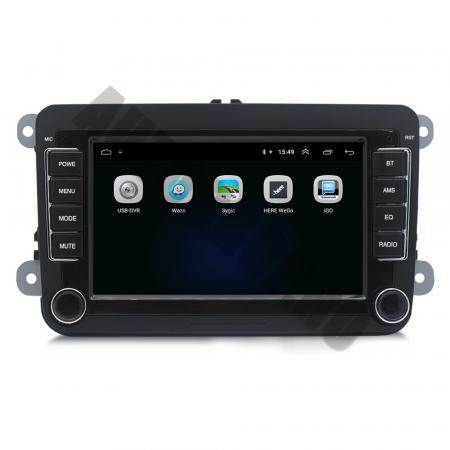 Navigatie Volkswagen, Skoda, Seat, QUADCORE|MTK| / 1GB RAM + 16GB ROM, 7 Inch - AD-BGPVW7MTK4
