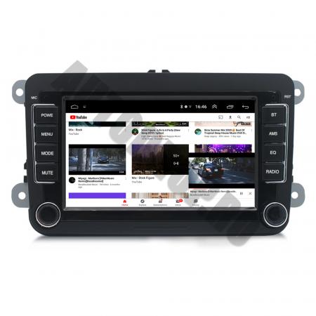 Navigatie Volkswagen, Skoda, Seat, QUADCORE|MTK| / 1GB RAM + 16GB ROM, 7 Inch - AD-BGPVW7MTK13
