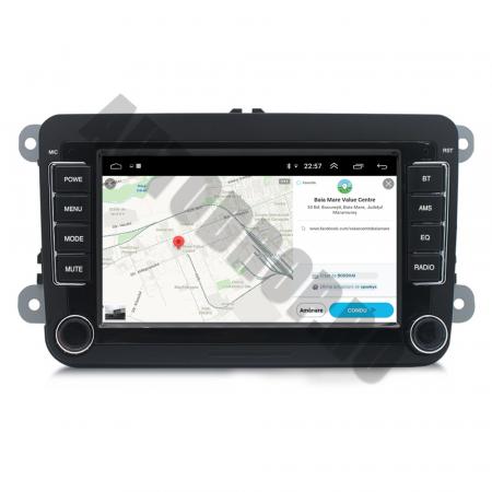 Navigatie Volkswagen, Skoda, Seat, QUADCORE|MTK| / 2GB RAM + 32GB ROM, 7 Inch - AD-BGPVW7MTK2GB11