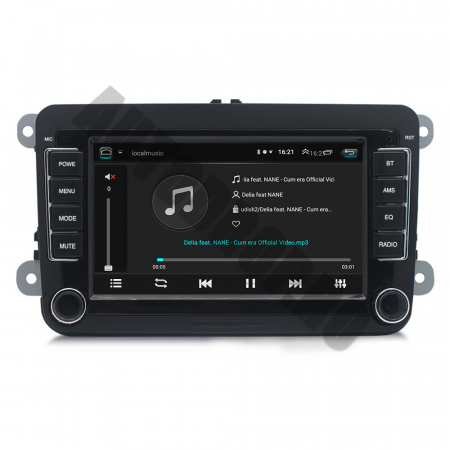Navigatie Volkswagen, Skoda, Seat, QUADCORE|MTK| / 2GB RAM + 32GB ROM, 7 Inch - AD-BGPVW7MTK2GB6