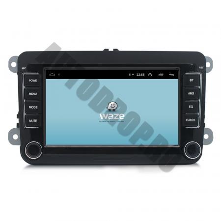 Navigatie Volkswagen, Skoda, Seat, QUADCORE|MTK| / 1GB RAM + 16GB ROM, 7 Inch - AD-BGPVW7MTK10