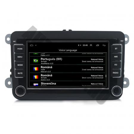 Navigatie Volkswagen, Skoda, Seat, QUADCORE|MTK| / 1GB RAM + 16GB ROM, 7 Inch - AD-BGPVW7MTK8