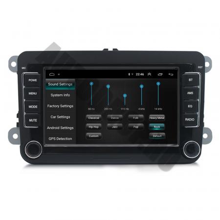 Navigatie Volkswagen, Skoda, Seat, QUADCORE|MTK| / 1GB RAM + 16GB ROM, 7 Inch - AD-BGPVW7MTK5