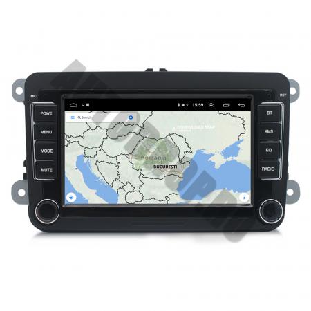 Navigatie Volkswagen, Skoda, Seat, QUADCORE|MTK| / 1GB RAM + 16GB ROM, 7 Inch - AD-BGPVW7MTK12
