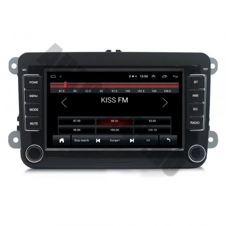 Navigatie Volkswagen, Skoda, Seat, QUADCORE|MTK| / 1GB RAM + 16GB ROM, 7 Inch - AD-BGPVW7MTK1
