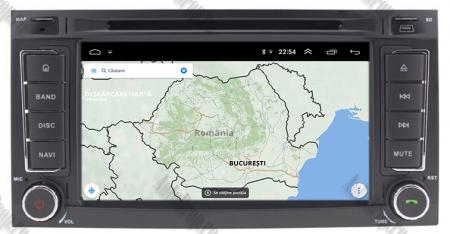 Navigatie Volkswagen Touareg/ Multivan/ T5, Android 10, QUADCORE|PX30| / 2GB RAM + 16GB ROM cu DVD, 7 Inch - AD-BGWVWTRGP314