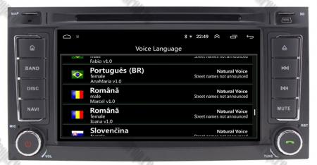 Navigatie Volkswagen Touareg/ Multivan/ T5, Android 10, QUADCORE|PX30| / 2GB RAM + 16GB ROM cu DVD, 7 Inch - AD-BGWVWTRGP39
