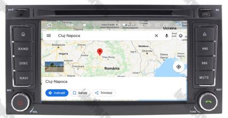 Navigatie Volkswagen Touareg/ Multivan/ T5, Android 10, QUADCORE|PX30| / 2GB RAM + 16GB ROM cu DVD, 7 Inch - AD-BGWVWTRGP312