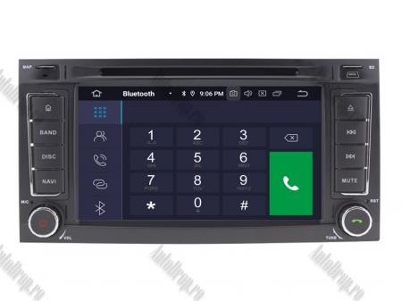 Navigatie Volkswagen Touareg/ Multivan/ T5, Android 10, QUADCORE|PX30| / 2GB RAM + 16GB ROM cu DVD, 7 Inch - AD-BGWVWTRGP33