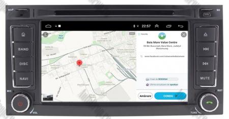 Navigatie Volkswagen Touareg/ Multivan/ T5, Android 10, QUADCORE|PX30| / 2GB RAM + 16GB ROM cu DVD, 7 Inch - AD-BGWVWTRGP315