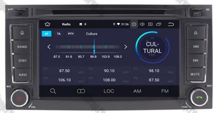 Navigatie Volkswagen Touareg/ Multivan/ T5, Android 10, QUADCORE|PX30| / 2GB RAM + 16GB ROM cu DVD, 7 Inch - AD-BGWVWTRGP34