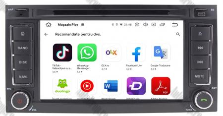 Navigatie Volkswagen Touareg/ Multivan/ T5, Android 10, QUADCORE|PX30| / 2GB RAM + 16GB ROM cu DVD, 7 Inch - AD-BGWVWTRGP311
