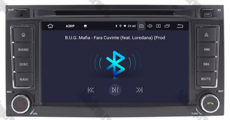 Navigatie Volkswagen Touareg/ Multivan/ T5, Android 10, QUADCORE|PX30| / 2GB RAM + 16GB ROM cu DVD, 7 Inch - AD-BGWVWTRGP36