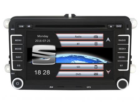 """Navigatie Volkswagen, Windows CE cu DVD, 7"""" Inch5"""