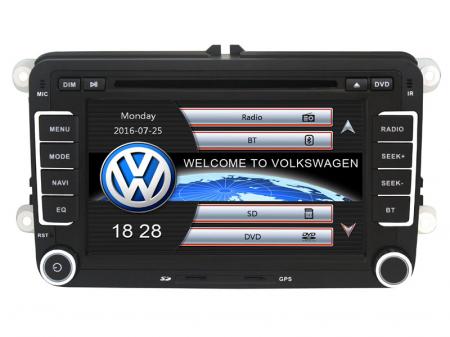 """Navigatie Volkswagen, Windows CE cu DVD, 7"""" Inch3"""