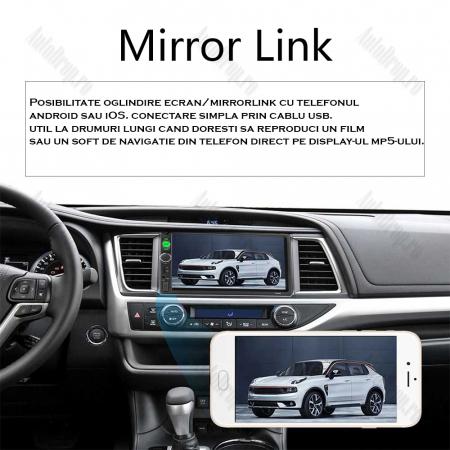 [OFERTA] MP5 Player DVD 2DIN Universal, WinCE, Bluetooth, USB, CardSD, Auxiliar, Mirrorlink, Touchscreen - AD-BGP7010b4