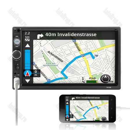 [KIT] MP5 Player pentru FORD, WinCE, Bluetooth, USB, CardSD, Camera Marsarier, Auxiliar, Mirrorlink, Touchscreen, - AD-BGPFORD7010B3