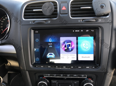 [Pachet] Navigatie Skoda Octavia 2 Facelift, Android 8.1, QUADCORE|MTK| / 1GB RAM, 9 inch - AD-BGPVW9SKMTK26