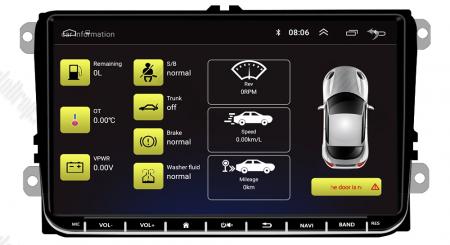 [Pachet] Navigatie Skoda Octavia 2 Facelift, Android 8.1, QUADCORE|MTK| / 2GB RAM + 32GB ROM, 9 inch - AD-BGPVW9SKMTK2GB9