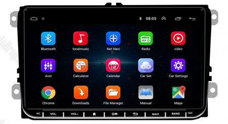 [Pachet] Navigatie Skoda Octavia 2 Facelift, Android 8.1, QUADCORE|MTK| / 2GB RAM + 32GB ROM, 9 inch - AD-BGPVW9SKMTK2GB7