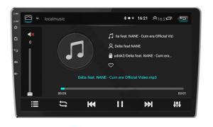 Navigatie Ford 2005-2008, Android 9.1, QUADCORE|MTK| / 1GB RAM + 16GB ROM, 9 inch - AD-BGPFORDF91GB11
