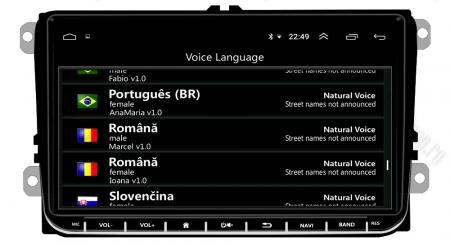 [Oferta] Navigatie Volkswagen, Skoda, Seat, Android 9.1, QUADCORE|MTK| / 1GB RAM + 16GB ROM, 9 inch - AD-BGPVW9MTK7