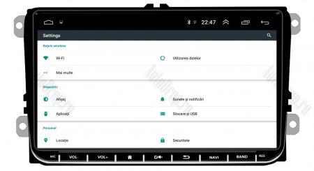 [Oferta] Navigatie Volkswagen, Skoda, Seat, Android 9.1, QUADCORE|MTK| / 1GB RAM + 16GB ROM, 9 inch - AD-BGPVW9MTK10